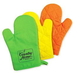 Kitchen Bright Promotional Oven Mitts