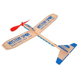 Custom Wind Up Propeller Balsa Plane - Motorplane