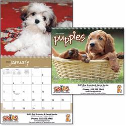 Puppies Custom Wall Calendars