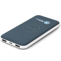 Wireless Charging Pad & Power Bank Custom Logo