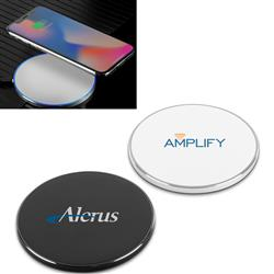 Quick Wireless Charging Pad with your Promotional Logo