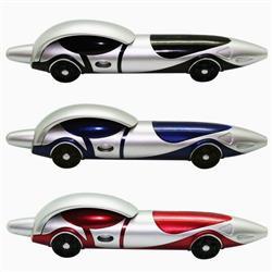 Race Car Ballpoint Clicker Pen