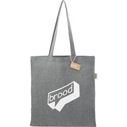 Custom Logo Recycled Cotton Tote Bags