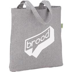 Recycled Cotton Tote Bags - Custom Convention and Shopping Totes Eco Friendly