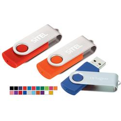 Custom USB Rotating Flash Drives