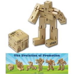 Robo-Cube Puzzle with custom logo
