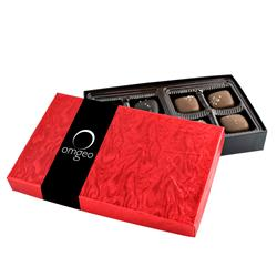 8pc Sea Salt Caramel Box Covered in Chocolate