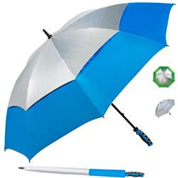 ShedRays® Vented Golf Umbrella with UPF 50+ Sun Protection and custom imprint