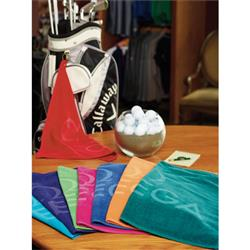 Turkish Signature Colored Golf Towel