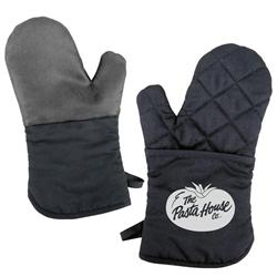 Silicone Backed Oven Mitts