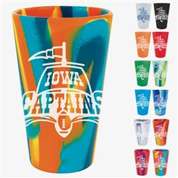 Colorful Silicone Pint Glass