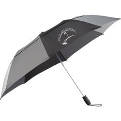 "55"" Slazenger Vented, Auto Open Folding Golf Umbrella Customized with your Logo by Adco Marketing"