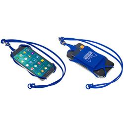 Smart Phone Lanyard with business card holder and detachable holder