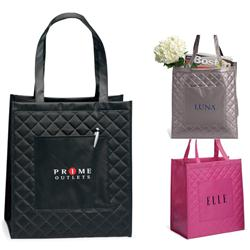 SoHo Shopper Quilted Tote Bag