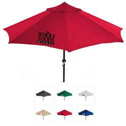 Music Market Umbrella with your custom logo - built in bluetooth speakers
