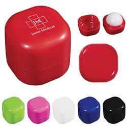 Custom Printed Square Lip Balm Cube SPF 15