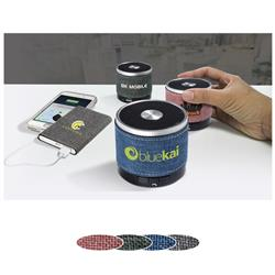 Strand™ Bluetooth® Speaker customized with your logo