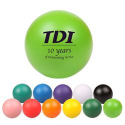 Custom Round Stress Balls, Promotional Round Stress Balls