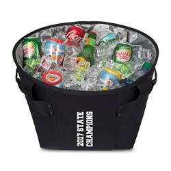 Tailgate Party Cooler Black with Custom Logo