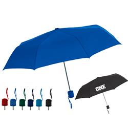 The One - Custom Folding Mini Umbrella great for travel