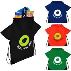 The T-Shirt Drawstring Cinch Backpack