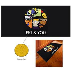 3' x 10' DigiPrint™ HD Indoor Floor Mat customized with  your logo