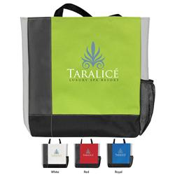 Tri Tone Custom Tote Bags