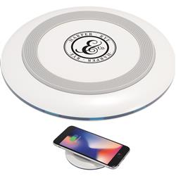 Tiz Qi Wireless Charging Pad with Promotional Customized Imprint