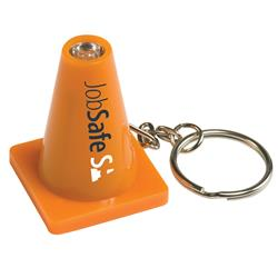 Traffic Cone Key Light and Key Chain