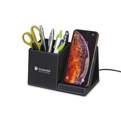 Truman Wireless Charging Pencil Cup Black
