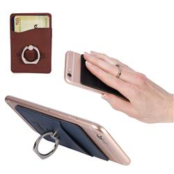 Tuscany™ Card Holder w/Metal Ring Phone Stand by Adco Marketing
