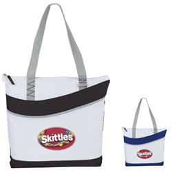 Upswing Convention and Trade Show Tote Bags with White Imprint Area - Great for Full Color