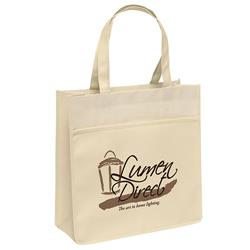 Urban Matte Laminated Eco Tote Bags customized with your logo