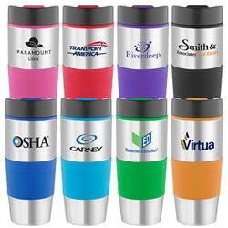 Ventura Double Wall Tumbler Travel Mug with grip