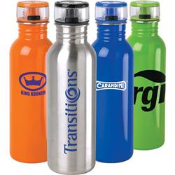 Flip Top Custom Stainless Steel Water Bottle and Sports Bottle