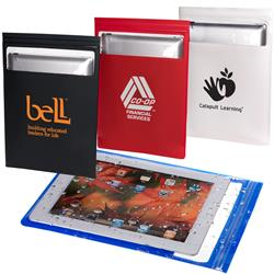 Water resistant iPad or tablet case with your custom logo