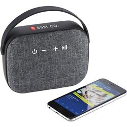 Woven Fabric Bluetooth Speaker customized with your logo