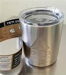 YETI Rambler Lowball Tumbler 10 ounce customized with your logo