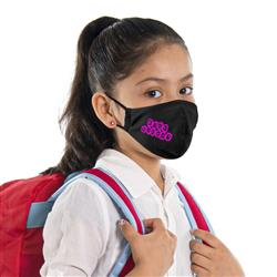 2 ply youth face mask with adjustable ear loops