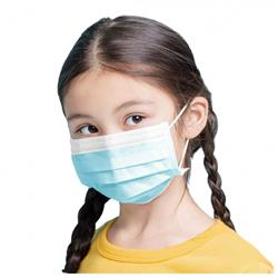 Youth Disposable 3-Ply Surgical Styles Masks with Nose Clip in bulk - great for schools
