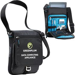 Zoom™ Media Messenger Bag for Tablets and iPads custom printed with promotional logo