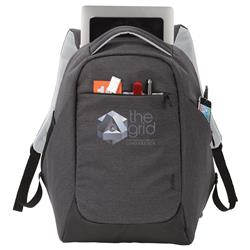 "Zoom® Covert Security TSA 15"" Computer Backpack Custom Printed - Great for Travel"